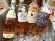 Provence Rosé in the tasting