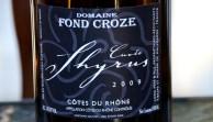 Domaine Fond Croze Cuvée Shyrus