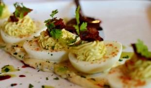 Devilled Eggs at Noir Stamford