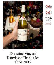 Domaine Vincent Dauvissat Chablis Les Clos