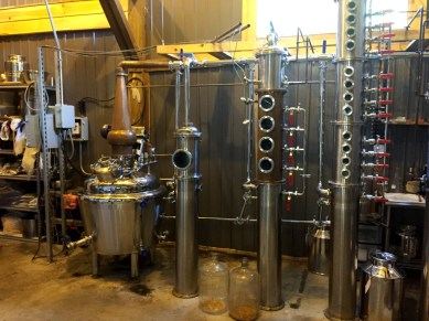 Stills at Hudson Valley Distillers