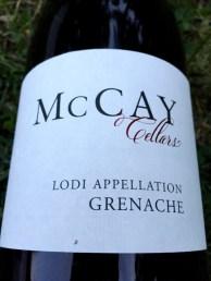 McCay Grenache Lodi