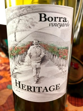 Borra Vineyard Heritage