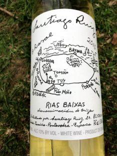 Santiago Ruiz O Rosal White Wine Rias Baixas