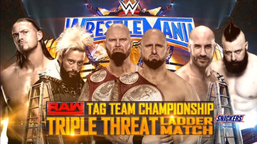 WrestleMania-33-Ladder-Match-For-The-Raw-Tag-Team-Championship-Luke-Gallows-Karl-Anderson-c-vs.-Cesaro-Sheamus-vs.-Enzo-Amore-Big-Cass