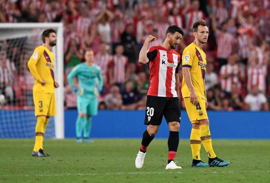Aduriz Scores Wining Goal - Athletic Club vs FC Barcelona