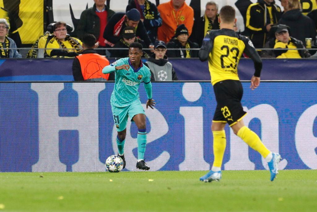 Dortmund vs Barcelona Tactical Analysis - Ansu Fati