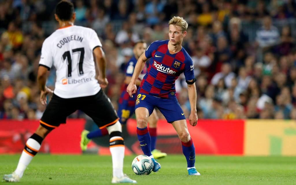 FC Barcelona vs Valencia - Frankie De Jong - LaLiga 19-20
