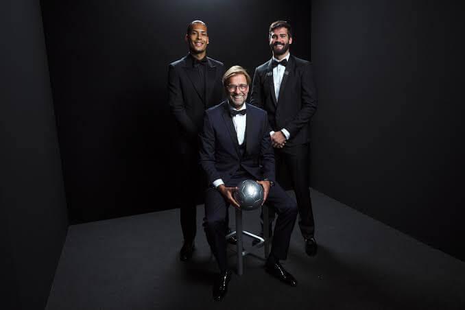 Fifa FIFPro Team Of The Year 2019 - Alisson Becker -Virgil Van Dijk