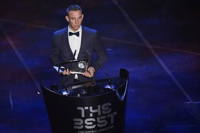 Fifa Player Of the Year Ceremony 2019 - Puskas Award - Daniel Zsori