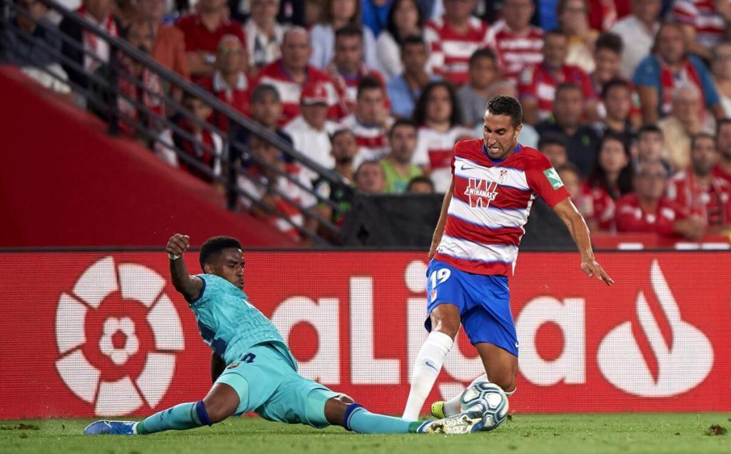 Granada vs FC Barcelona - Junior Firpo - LaLiga 2019-20