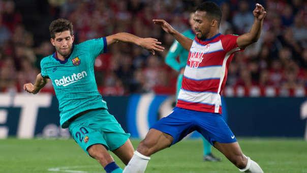 Granada vs FC Barcelona - Roberto - LaLiga 2019-20