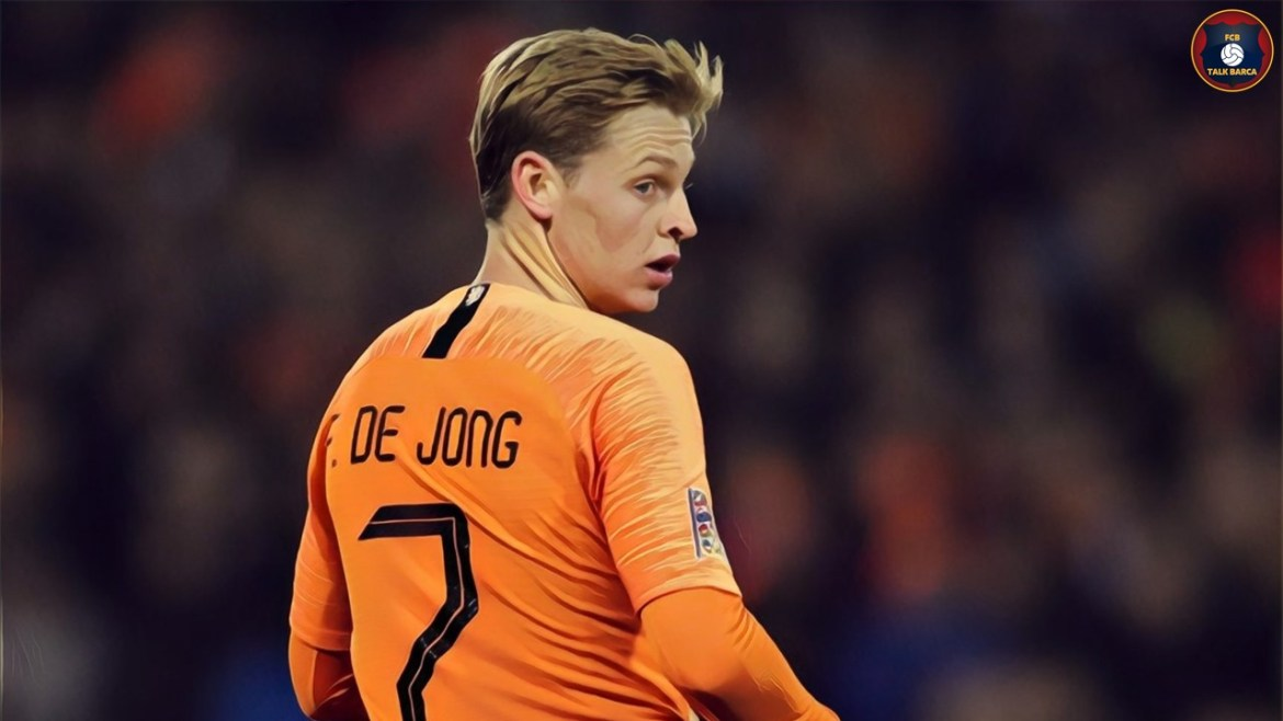 FC Barcelona International Break – November 2019 - De Jong