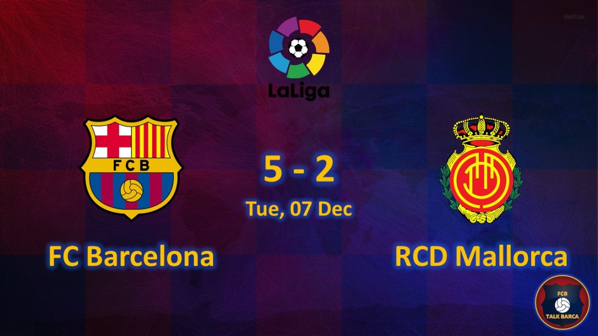 FC Barcelona vs Mallorca December Review - Season 2019-20