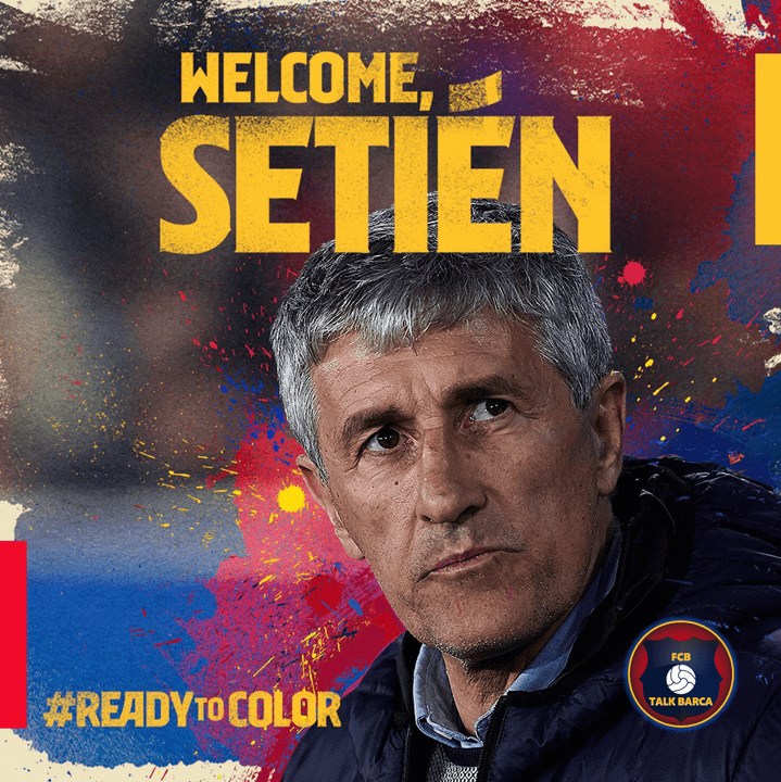 Quique Setien Appointed As New Barcelona Head Coach
