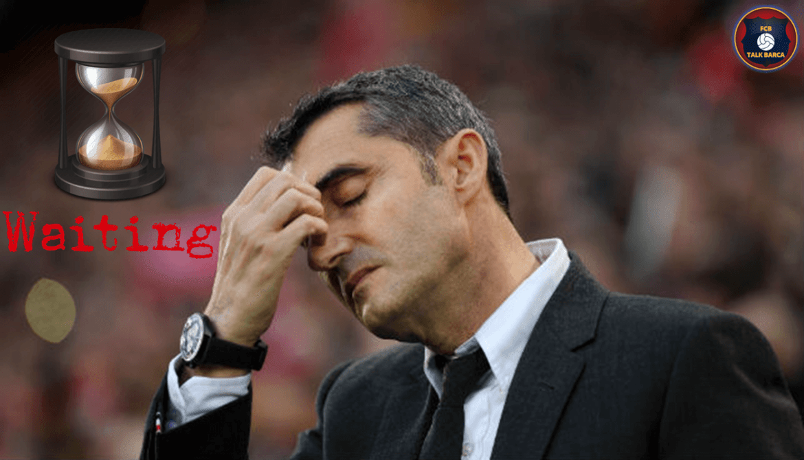 The Wait For Valverde To Get Sacked