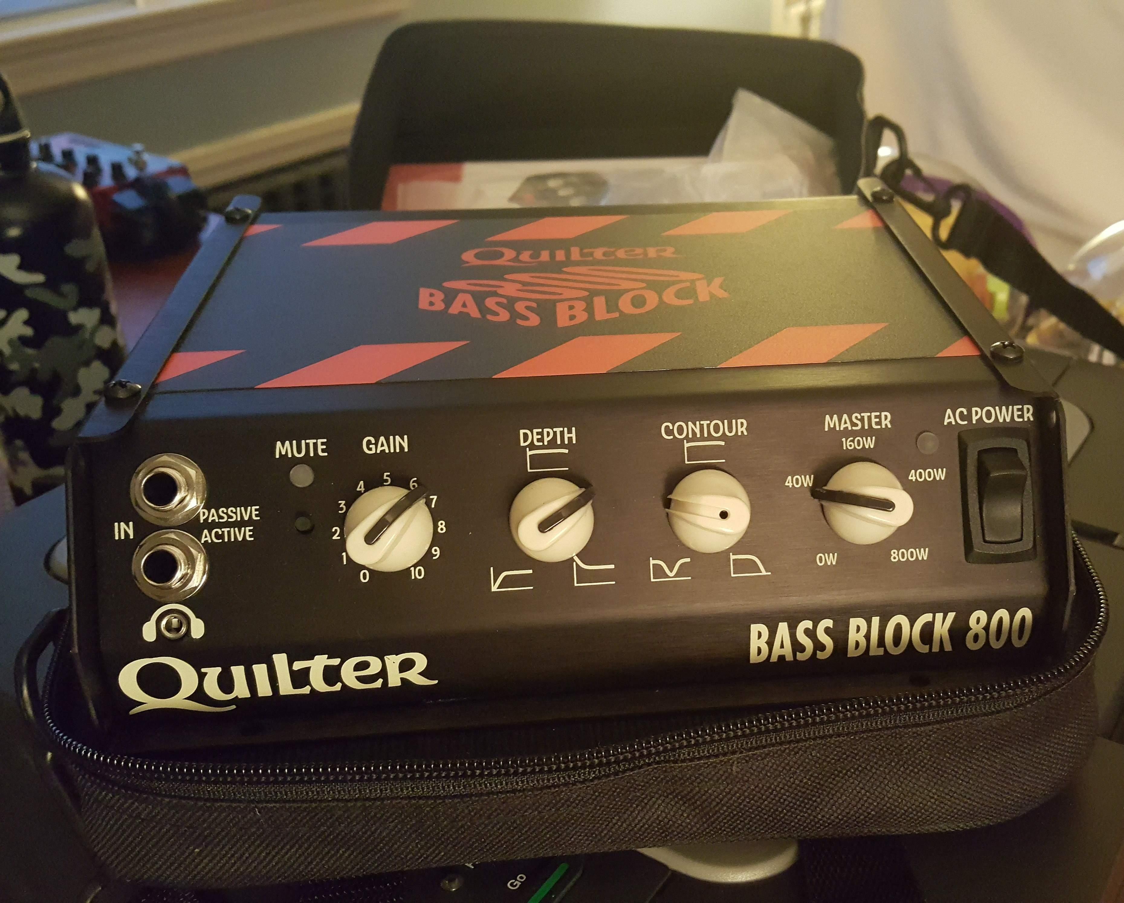 SOLD - Quilter Bass Block 800