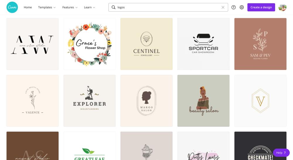 Canva PRO Logos