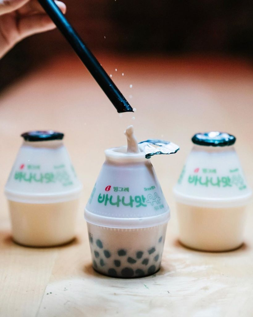 Korean Banana Milk Boba