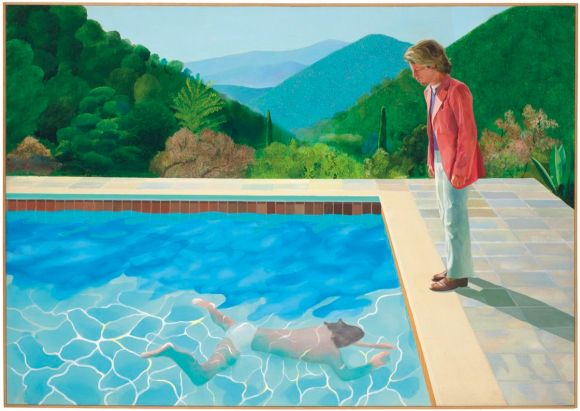 , David Hockney brings a happy flair to this moodboard