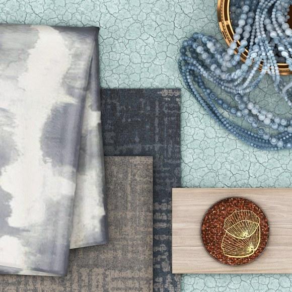 , 2020 runway looks inspire this minimal tie-dye mood board
