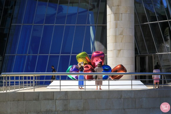 , Exterior tour of an architectural classic: the Guggenheim Bilbao
