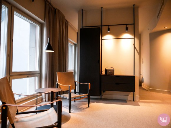 Blique Stockholm, Blique Stockholm offers warmth and industrialism in a refined mix