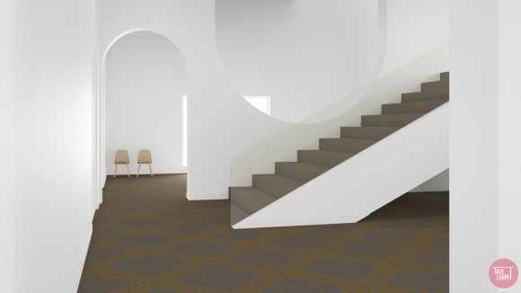 Classic carpet design, Classic carpet design reimagined as a minimal pattern