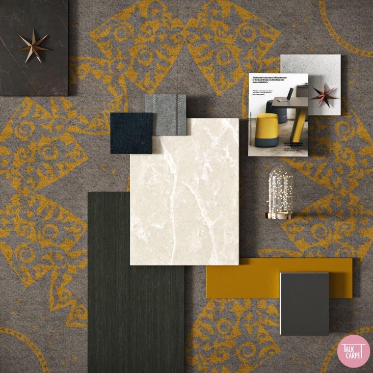 Talk Carpet Dior Paris Christmas 2020 moodboard