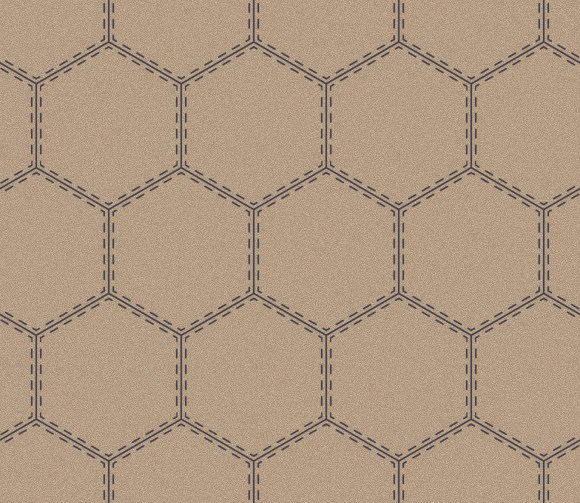 sporty hexagon  beige