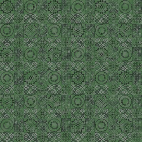 spanish mosaic green