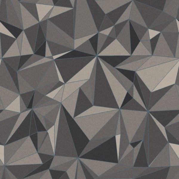 grainy crystal  grey
