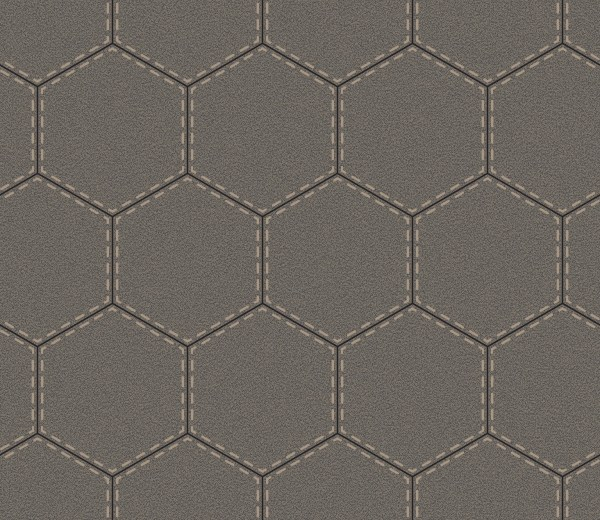 sporty hexagon grey
