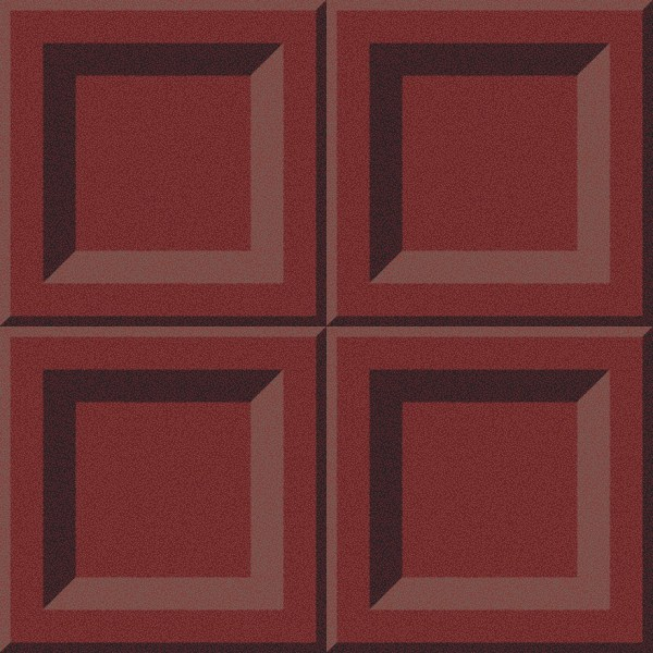 square panel red