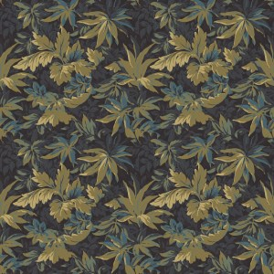tapestry leaves  green
