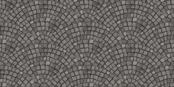 cobble fan  grey
