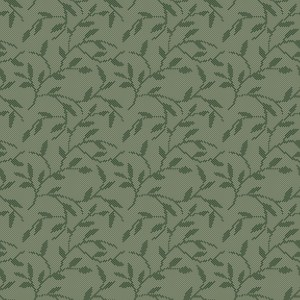 dotted leaves  green