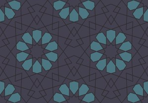 geometric lace  purple