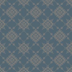 trondheim embroidery  light blue