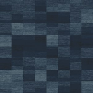 melange stripe  blue