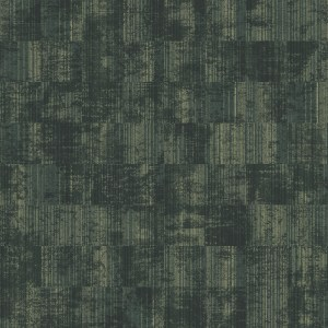 Stripy Velvet  green