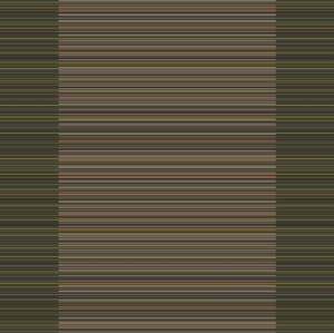 madras stripe corridor 195 cm  green