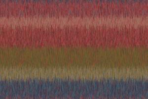 ikat stripe  red