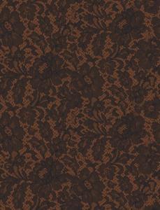 silk lace brown