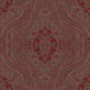 paisley shawl  red