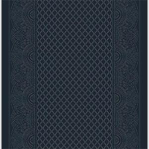 paisley shawl corridor 195 cm  blue
