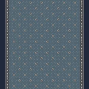 rosette corridor 195 cm  blue