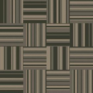 denim stripe green