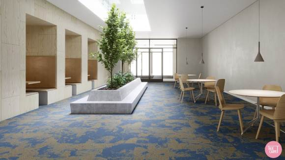 blue organic carpet, Blue organic carpet for our Hitachi Seaside Park mood board