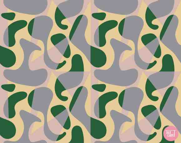 custom flooring, Custom flooring inspired by organic landscape house in Moscow